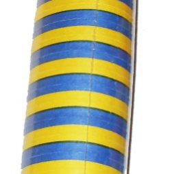Serpentiner i blå gul  svensk färgkombination